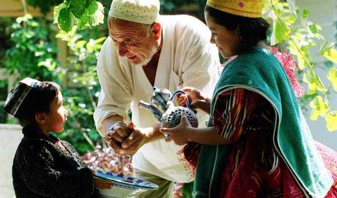 Пенсионеры Узбекистана